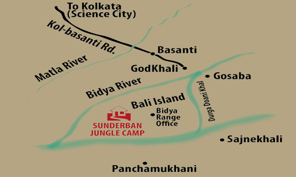 Sundarban Map